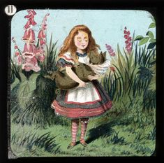 Alice in Wonderland, in 24 Vintage Magic Lantern Slides – Brain Pickings