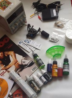 #TattooKit Kit tatuaj www.tattooinkstore.com