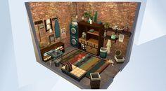 Sims Love, Sims 3, Sims 4 House Plans, Sims 4 House Design, Casas The Sims 4, Sims Building, Sims Games, Sims Ideas, Sims 4 Build