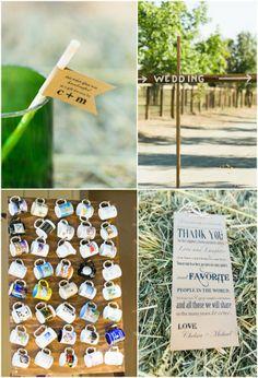 Rustic Farm Wedding Details