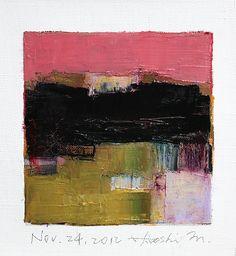 Nov 24 2012  Original Abstract Oil Painting  by hiroshimatsumoto, $60.00