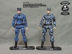 Gi joe Custom Action Figures: U.S. Navy