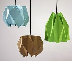 EL JARDIN DE LOS SUEÑOS: DIY lámparas de origami
