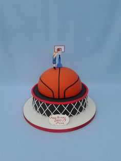 Basketball Cake | Flickr - Photo Sharing!