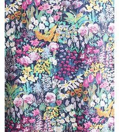Liberty Tana Lawn Fabric Small Painter's Meadow B - Alice Caroline - Liberty fabric, patterns, kits and more - Liberty of London fabric online Flower Pattern Design, Flower Patterns, Print Patterns, Fabric Patterns, Liberty Of London Fabric, Liberty Fabric, Alice, Lawn Fabric, Illustrations