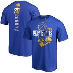 34.99 Men s Golden State Warriors Stephen Curry Fanatics Branded Royal  2018 NBA Finals Bound Player Name 720ae305911