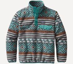 Patagonia Boys Lightweight 'Synchilla Snap-T' Pullover Fleece