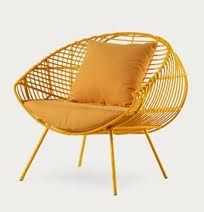 Out door furniture to relax in during those sunny days.  Check out http://www.hometrendspotter.com for more of the same.