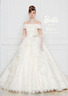 Barbie BRIDAL 17 Weeding Dress, Gorgeous Wedding Dress, White Wedding Dresses, Bridal Dresses, Beautiful Dresses, Barbie Bridal, Fairytale Gown, Elegant Ball Gowns, Bridal Elegance
