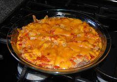 Lucy's Diabetic Friendly Low Carb Meals: Enchilada Pie
