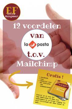 12 voordelen van Laposta ten opzichte van Mailchimp | EF Office Management Auto Entrepreneur, Office Management, Van, Marketing, Vans, Vans Outfit