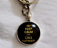 Call Batman Keychain Going to have to get this for my sister eventually...