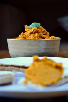 Carrot and Coriander Hummus