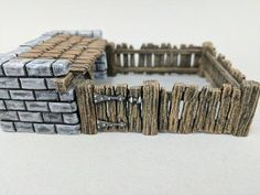 dnd Pig Sty with Fence- Tabletop Farm Terrain Miniature RPG Warhammer D&D Dungeons and Dragons Dungeons And Dragons Miniatures, D&d Dungeons And Dragons, Game Terrain, Model Train Layouts, Game Pieces, Tabletop Games, Model Trains, Scenery, Things To Come