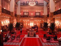 budapest hotel lobby