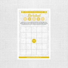 Lace Bridal Shower Bingo - Personalized and Printable - Bridal Bingo Game - Bridal Shower Games by shopMKCreative on Etsy https://www.etsy.com/listing/273560830/lace-bridal-shower-bingo-personalized