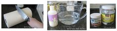 Own make up remover wipes: 4 cups warm water, 1-2 tablespoons Coconut Oil. (1-2 squirts of baby wash or your your favorite face wash if you want, but it's not necessary) and maybe a drop or two of tea tree oil to inhibit possible mold growth if you're not going through the wipes fast enough.