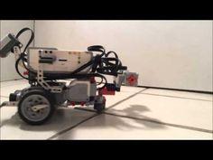 Verme e transplantádo como software em um robô Lego