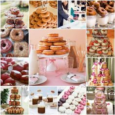 Who says you can't have your cake and eat your doughnuts too? (Note the Doughnut 'Cake' in the bottom left…4 tiers of heaven.)