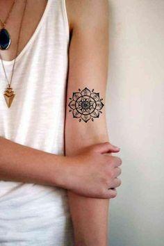 Detailed Mandala Tattoo
