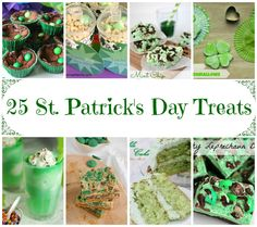 25 St. Patrick's Day Treats @russej10  #stpatricksday #dessert