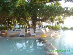 Poolside at Treasure Island Fiji