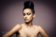 Beauty portrait of young sexy woman by gianlucamuscelli