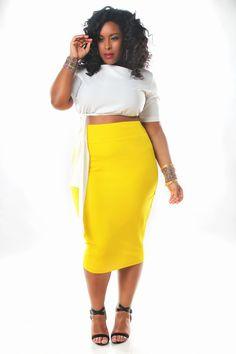 ba27142903b JIBRI High Waist Pencil Skirt — JIBRI Pencil Skirt Outfits