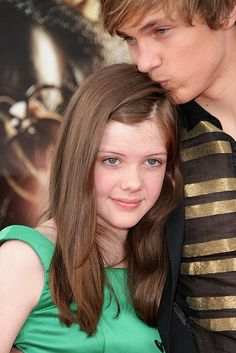 About one of the most precious thing I've ever seen.William Moseley and Georgie henley