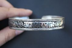 Free Shipping  Comparatively Big Tibetan Silver by EasternTreasury, $9.95