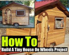 How To Build A Tiny House On Wheels Project Repinned by www.motherearthproducts.com. Visit us!