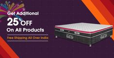 Fresh Up Mattresses - Buy India's Best Brand Mattress Online Buy Mattress Online, Beds Online, Mattresses, Sofa Bed, Memory Foam, Pillow Covers, India, Fresh, Free Shipping