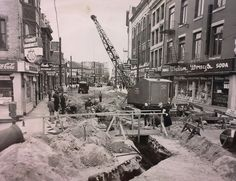 Bank Street in the 1950's