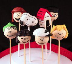 Peanuts Gang Cake Pops!