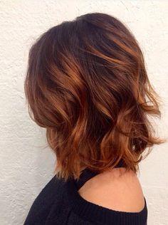 copper auburn hair color