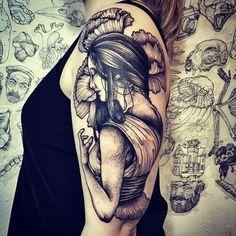 Upper Back Butterfly Tattoo Arm Mandala Tattoo for Girls Bee Tattoos? Chest Matching Tattoos Sleeve Flowers Tattoo Design Cute Dragonfly Tattoo on Rib Tattoo On, New Tattoos, Girl Tattoos, Tattoos For Women, Female Rabbit, Rabbit Tattoos, Tattoo People, Shoulder Tattoo, Body Mods