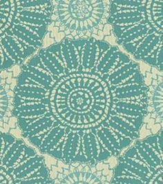 Waverly Sun N Shade Outdoor Fabric-Sundial Lagoon Fabric