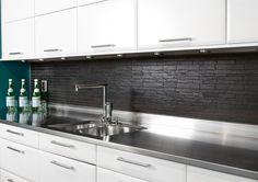 Köp Omni Slate Black Stavmosaik - Stenbolaget