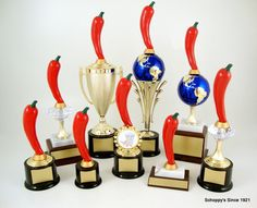 The Pepper Trophy collection Available at Schoppy's Since 1921