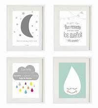 Resultado de imagen para cuadros infantiles para imprimir gratis Baby Decor, Kids Decor, Cute School Bags, Ideas Dormitorios, World Crafts, Baby Art, Baby Bedroom, Crafty Projects, Painting Patterns