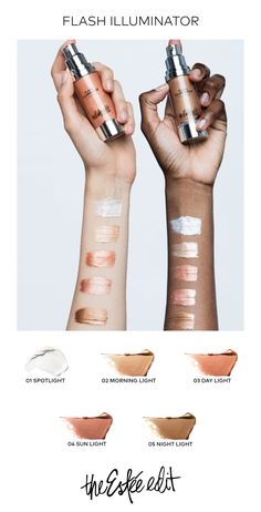 Want instantly gorgeous skin? This high-impact highlighting cream from Estee… Makeup Inspo, Makeup Inspiration, Makeup Tips, Hair Makeup, Makeup Products, Beauty Products, Sephora, Beauty Nails, Hair Beauty