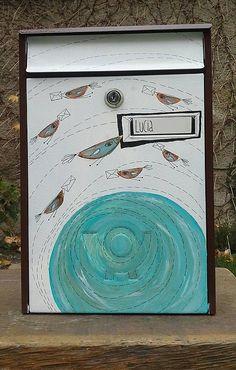 Egba / Maľovaná poštová schránka