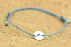 Personalized sterling silver bracelet by zzaval on Etsy, $7.50