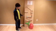 Pop a balloon - rube goldberg machine.MTS