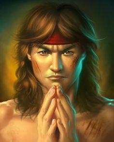 "Create Fan Art for Mortal Kombat's ""Liu Kang"" in Photoshop"