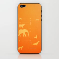 Ylvis.. What does the fox say.. funny animal sounds iPhone & iPod Skin by studiomarshallarts - $15.00