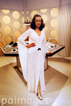 Mary Tamm, who has been cast as the new assistant on Doctor Who.