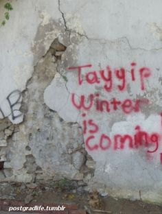 Winter is cming for PM Tayyip  #turkey #occupygezi #occupyturkey