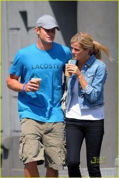 Andy Roddick & Brooklyn Decker: Coffee Couple   Andy Roddick, Brooklyn Decker Photos   Just Jared