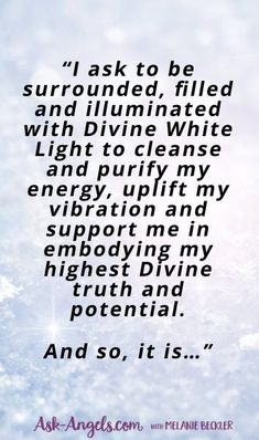 This is a short excerpt from a beautiful White Light Prayer for peace, healing, light and love. Click through to read this full prayer. Source by askangels Lighting Prayer For Love, Prayer For Guidance, Prayer For Protection, Prayer For Peace, Protection Quotes, Angel Protection, Protection Spells, Spiritual Prayers, Prayers For Healing